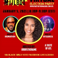 Black Girls Vote and Party at The Mailbox Celebrate Voting Day In Atlanta With An Exc Photo