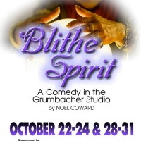 BWW Review: BLITHE SPIRIT at The Belmont Theatre Photo