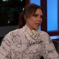 VIDEO: Victoria Beckham Talks About Her New Beauty Line on JIMMY KIMMEL LIVE!