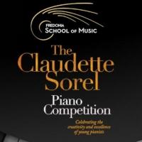 The 6th Claudette Sorel Piano Competition Announced Photo