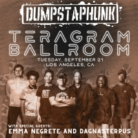 Dagnasterpus and Emma Negrete to Open for Dumpstaphunk at the Teragram Ballroom Photo