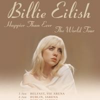 Billie Eilish Announces 'Better Than Ever: The World Tour' Photo