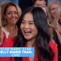 VIDEO: Kelly Marie Tran Talks STAR WARS on GOOD MORNING AMERICA Video