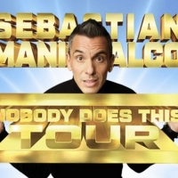 Sebastian Maniscalco Adds December Show at UBS Arena for Second Leg of NOBODY DOES TH Photo