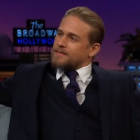 VIDEO: Charlie Hunnam Talks Online Chess on THE LATE LATE SHOW WITH JAMES CORDEN