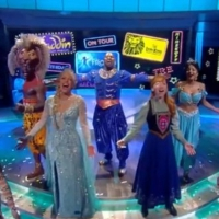 VIDEO: The Stars of ALADDIN, THE LION KING & FROZEN Perform a Medley on THE VIEW! Photo