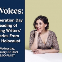 Mayim Bialik Joins Liev Schreiber, Mandy Gonzalez, Adam Kantor & More for Holocaust Rememb Photo