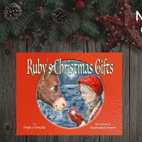 Nancy Oswald Promotes Holiday Children's Book RUBY'S CHRISTMAS GIFTS Photo