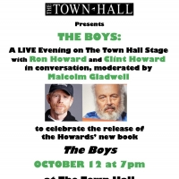 Ron Howard and Clint Howard to Take Part in THE BOYS Event at The Town Hall Photo