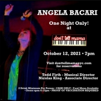 ANGELA BACARI Returns To New York and Don't Tell Mama For ONE NIGHT ONLY! October 12t Photo