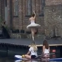 VIDEO: Royal Ballet Dancers Practice Along Regent's Canal Photo