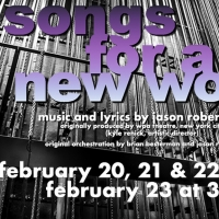 SONGS FOR A NEW WORLD Will Come to Life on the Union County Performing Arts Center's Hamilton Stage