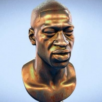 George Floyd Memorial Bust Released For 3D Printing By Sculptors Daniel And Rodman Edwards