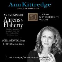 Ann Kittredge PresentsAn Evening Of Ahrens & Flaherty Photo