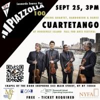 Leonardo Suarez Paz Presents PIAZZOLLA 100: CUARTETANGO String Quartet Photo