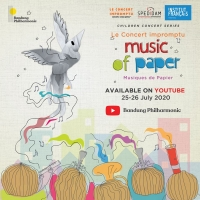 BWW Review: The Imaginative Flight of MUSIC OF PAPER's Story and Form Photo