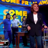 VIDEO: The Cast of COME FROM AWAY Performs 'Me and The Sky' in Times Square