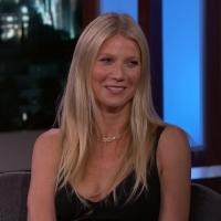 VIDEO: Gwyneth Paltrow Talks Her Kids, Magic Mushrooms & Vagina Candles on JIMMY KIMMEL LIVE!