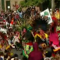 VIDEO: Aztec Dance Group Performs During Protest in Minneapolis