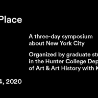 A SENSE OF PLACE, A Three-Day Symposium About New York City, Begins March 12 Photo
