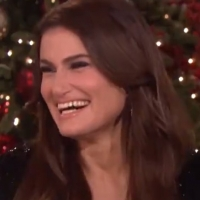 VIDEO: Idina Menzel Stops By ELLEN To Talk UNCUT GEMS, Her Hollywood Walk Of Fame, St Photo