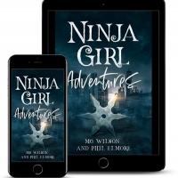 MG Wilson and Phil Elmore Release New YA Fantasy NINJA GIRL ADVENTURES Photo