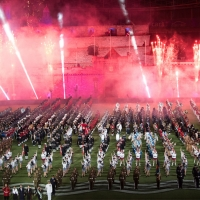 Over 120,000 People Attended Record-breaking Production At Anz Stadium