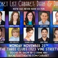 First Look: Bucket List Cabaret: DARK & DIRTY Returns to Three Clubs on Monday, Nov 2 Photo