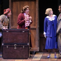 BWW Review: THE 39 STEPS at TheatreWorks Silicon Valley is a Brilliantly Directed and Acted Rollicking Spoof of Hitchcock's Noir Spy Thriller