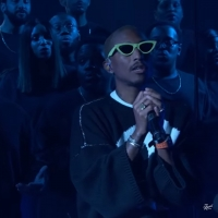 VIDEO: Pharrell Williams Performs 'Letter To My Godfather' on JIMMY KIMMEL LIVE! Video