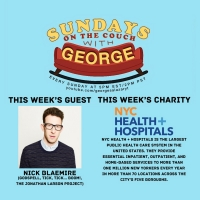 Nick Blaemire to Appear as the Next Guest on SUNDAYS ON THE COUCH WITH GEORGE Photo