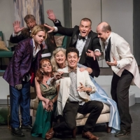 BWW Review: Opening Night Frantic Antics Fuel the Humor in Terrence McNally's IT'S ONLY A PLAY at the Morgan-Wixson Theatre