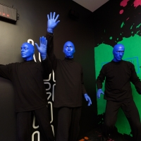 BLUE MAN GROUP Make Their Mark At Museum Of The City Of New York