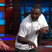 VIDEO: Idris Elba Teaches Stephen Colbert Some CATS Moves Video