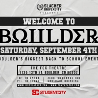 WELCOME TO BOULDER Announced This September at Fox Theatre Photo