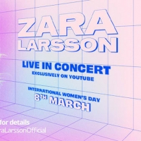 ZARA LARSSON FREE LIVE STREAM CONCERT at YouTube 8th of March at 20:00 CET/7 PM GMT Photo