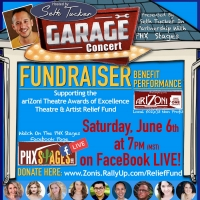 Seth Tucker and PHX Stages to Present Garage Concert To Support The AriZoni Artists A Photo