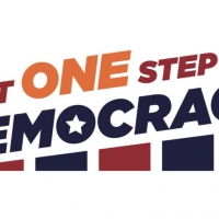 Arnetia Walker and Stephen Nachamie Launch JUST ONE STEP FOR DEMOCRACY Photo