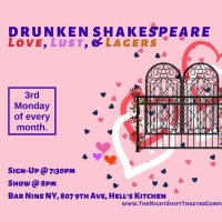 The Night Shift Theatre Company Presents DRUNKEN SHAKESPEARE Photo