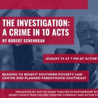 Out of Hand Theater, Actor's Express, and True Colors Theatre Company Present THE INVESTIGATION: A CRIME IN TEN ACTS