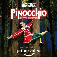 PINOCCHIO – IL GRANDE MUSICAL arriva su AMAZON PRIME VIDEO! Photo
