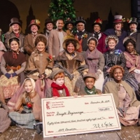 The Company of A CHRISTMAS CAROL at Ford's Theatre Raised +$83k for D.C.'s Bright Beg Photo