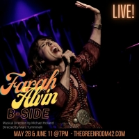 Farah Alvin's New Show B-SIDE Hits The Green Room 42 On May 28th Photo