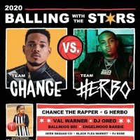 G Herbo and Chance The Rapper Join 'Balling With The Stars' Charity Game Photo