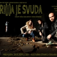 BirdLand Theatre And Artepunkt Present MARI(J)A IS EVERYWHERE