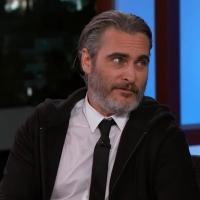 VIDEO: Joaquin Phoenix Talks JOKER & Shares an Outtake on JIMMY KIMMEL LIVE!