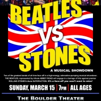 BEATLES VS. STONES: A MUSICAL SHOWDOWN Announced at Boulder Theater Photo