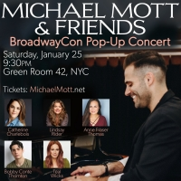 Teal Wicks, Bobby Conte Thornton Set For 'Michael Mott & Friends' PopUp Concert