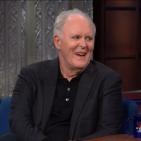 VIDEO: John Lithgow Talks Trump on THE LATE SHOW WITH STEPHEN COLBERT! Photo