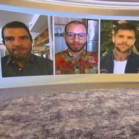VIDEO: Zachary Quinto, Robin de Jesús & Charlie Carver Talk THE BOYS IN THE BAND on TAMRON HALL